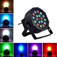 Wholesale Hot Sell W High Power RGB LED Par Light With DMX512 Master Slave Stand Megar Par Profile Stage Light DJ Equipments