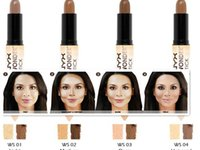 Wholesale 120 NYX Wonder Stick Concealer Eye Face Makeup Cover Women Med Tan Highligher Colors