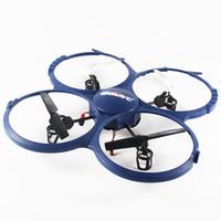 Excellent Di U918A Quadcopter marque télécommande hélicoptère rotors HD drones aériens enfants télécommande jouets enfants cadeaux UFO UFO RC