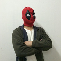 metal face mask - U S Deadpool Masks JLA Balaclava Halloween Party Mask Cosplay Hero Costume X men Hats Deathstroke Rib Fabrics Full Face Masks