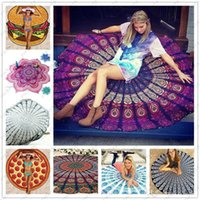 beach clock - Round Square Rectangle Women Beach Cover Ups Sexy Beach Wear Pareo Bohemian Chiffon Clock Swimsuit Cover Up