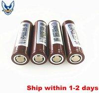 Wholesale Original Battery mAh A Rechargable Lithium Batteries VS LG HG2 HE4 HE2 Sony VTC5 VTC4 Battery Fedex