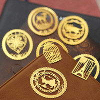 Wholesale High grade Exquisite Mini Lace Gold Color Metal Cute Students Page Clip Bookmarks Reading Creative Papelaria
