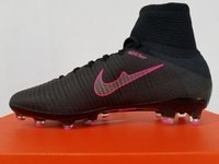ag golf - 2016 Mercurial Superfly V AG PRO Men Football Boots High Cut Fashion Soccer Sports Outdoors Size