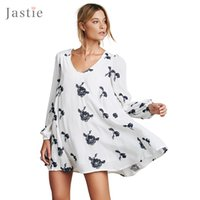 austin mini - Embroidered Austin Dress Vintage Floral Mini Dress Hollow Back Sexy Women Dresses Elastic Sleeve Cuffs Loose Casual Vestidos