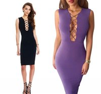 Cheap New Cheap Fashion Bodycon Bandage Club Dresses For Women 2016 Sexy Sleeveless Casual Dresses Party Night Club Wear Celebrity Dresses FS0100
