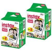 Wholesale High quality Instax White Film Intax For Mini S s Polaroid Instant Camera