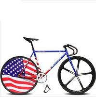 Aluminum Alloy adult male bicycle - Fixed Gear Bikes for Male bicycle bicicletas700cc Double V brake standard bicycle adult bikes white unisex biycles