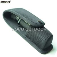 Wholesale High Density Nylon Molded Tactical Flashlight Pouch Holder OC Pepper Spray Pouch Bag for MK3 Tactical Waist Packs D Nylon
