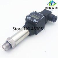 Wholesale Flat film type pressure transmitter sensor Digital display function pressure sensor Output mA V V Range Mpa