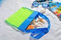 Wholesale Kids Beach Toys Receive Bag Mesh Sandboxes Away All Sand Child Sandpit Storage Shell Net Sand Away Beach Mesh Pouch ZD052B