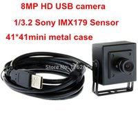 Wholesale 12mm lens Mp X2448 MGPEG fps mini mm metal box CMOS SONY IMX179 CMOS USB camera board for windows