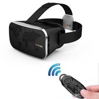 best movie screen - Top Best Selling Virtual Reality Smartphone VR D Glasses google cardboard Head Mount Headset D IMAX Screen Movies Games Remote Control