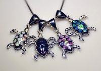 Vente en gros de bijoux de mode Fine BlueWhitePinkBrown Fire Opal Stone argent plaqué pendentifs pour les femmes PJ16011001