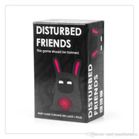 Wholesale IMMEDIATELY DELIVERY High Quality Disturbed Friends This game should be banned Cards Game Shipping Within H
