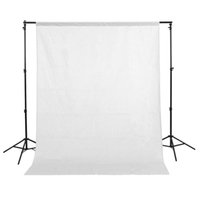Wholesale 1 x3m x10ft Cotton Muslin PRO Photo Photography Backdrop Background White