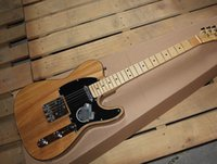 Wholesale HOT High quality New style TL TELE telecaster Natural color electric guitar in stock