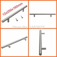 Wholesale 2015 High Quality x250x160mm Top Quality Lighweight Stainless Steel Bar Pulls Cabinet Hardware Drawer Knobs Pulls Hinges
