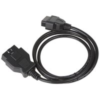 auto extension cord - m long ELM327 OBD ii OBD2 Pin male to female extension cord plug auto diagnostic tool adapter
