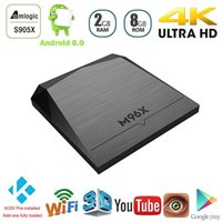 Wholesale M96X Amlogic S905X Android TV Box G G KODI Smart TV IPTV Europe Media Player