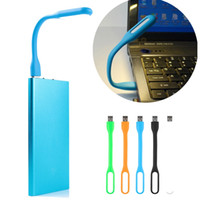 Wholesale Super Bright USB LED Light Portable W Flexible Foldable USB Book Reading Lamp For Notebook Computer Laptop PC