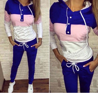 Wholesale 2016 New Autumn Suits For Women Cute Women Suit Brand Tracksuit Costomes Hoodies Set