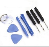Wholesale 8 in Opening Disassemble Repair Tool Kit Screwdriver Pry Set Kits for iPhone S S C for Samsung etc Mobile Phone