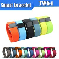 Wholesale Hot TW64 Smart Bracelet Bluetooth smart watch calories Waterproof Passometer Sleep Tracker Function for android ios phone