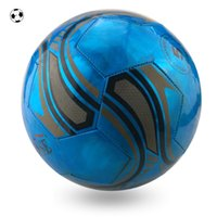 Wholesale New PVC Football Ball Adult Soccer Ball Size High Quality Stunning Cool Laser Soccer Ball Outdoor Training