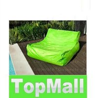 Wholesale extra large floating beanbag summer swimming beanbag DOUBLE WIDE bean bag floats pool bean seat without filling LLFA24