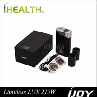 battery sleeves - iJoy Limitless LUX W TC Box Mod Powered by Dual Battery with Changeable Sleeves Original Limitless LUX Dual mod