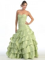 big chic - Chic Sweetheart Appliques Mint Green Quinceanera Dresses Puffy Taffeta Fall Collection Online With Big Discount