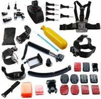 arm chest - Gopro Accessories Set gopro hero4 Extension Arm Chest Head Mount Strap Monopod Go pro Hero hero3 Hero4 Sj4000 Xiaomi YI