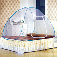 Wholesale New Style Red Mosquito Net For Bed Pink Blue Purple Student Bunk Bed Mosquito Net Mesh Cheap Price Adult Double Bed Netting Tent