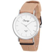 alloy distributors - Chaxigo Brand Fashion Jewelry Wrist watches Custom Logo Watch Fashion Casual Unisex Watch Nato Nylon Watch Distributors And Wholesalers