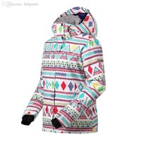 Wholesale winter snow authentic Indian style ladies outdoor ski jacket snow suit women breathable warmth