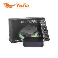 Wholesale 20pcs MXQ TV BOX Amlogic S805 Quad Core Android Kitkat GB GB KODI WIFI Airplay Miracast