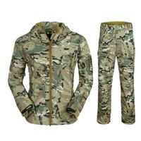 acu winter jacket - TAD jacket men Waterproof jacket Zipper Windbreaker Multicam TAN GRAY BK ACU OD winter jacket