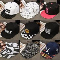 Wholesale Korean tide in spring and summer men s hat hip hop hip hop female baseball cap peaked cap autumn and winter outdoor flat hat