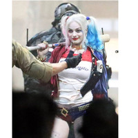 batman hair - Batman Clown Curly Heat Resistant Synthetic Hair Ombre Wig Suicide Squad Harleen Quinzel Harley Quinn Cosplay Wig Fashion Gradient Wigs