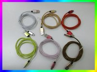 Wholesale High M ft Micro USB Cord Data Sync Charger Cable For Android Smart Phone note iphone DHL