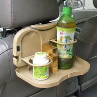 auto tray table - Folding Car Auto Back Seat Table Drink Food Cup Tray Holder Stand Desk