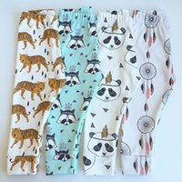 Wholesale Baby Leggings Kids Boys Girls Toddler Pants Trousers Tights Baby Cotton Clothing Clothes Baby Pants Size Patterns