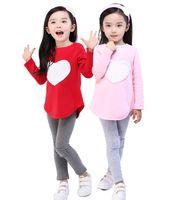 animal headband patterns - OWEST Heart Pattern Toddler Girls Clothing Sets Baby Kids Heart Shirt Dress Leggings Headband Kids Cotton Outfit
