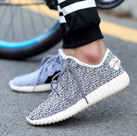 Wholesale 2016 Spring Fashion Designer Men Shoes Casual Flats World Popular West Lace Up and Slip on Men Casual Shoes kanye west Shoes