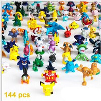 best christmas present - Poke Monster Toys Poke Monster Mini Figures Pikachu Action Figures PVC Toy Best Gifts For Children Christmas Present Size cm in Stock