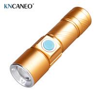 Wholesale XPE Mini LED Flashlight Rechargeable Torch light Aluminium Mini flashlight