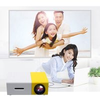 Wholesale Mini Multimedia Pocket Portable LED projector P D Home Theater AV USB HDMI Support V A Power Supply