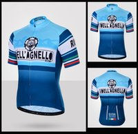Wholesale Dellagenllo Summer Short Sleeve Cycling Jerseys Bicycle Apparel Breathable Cycle Sport Shorts Size XS XL