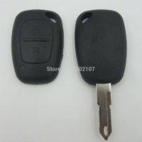 Precio de El tráfico dc-Coche Llave Remota Caja Fob para 2 Botón RENAULT Tráfico Maestro Vivaro Movano Kangoo M4167 coche